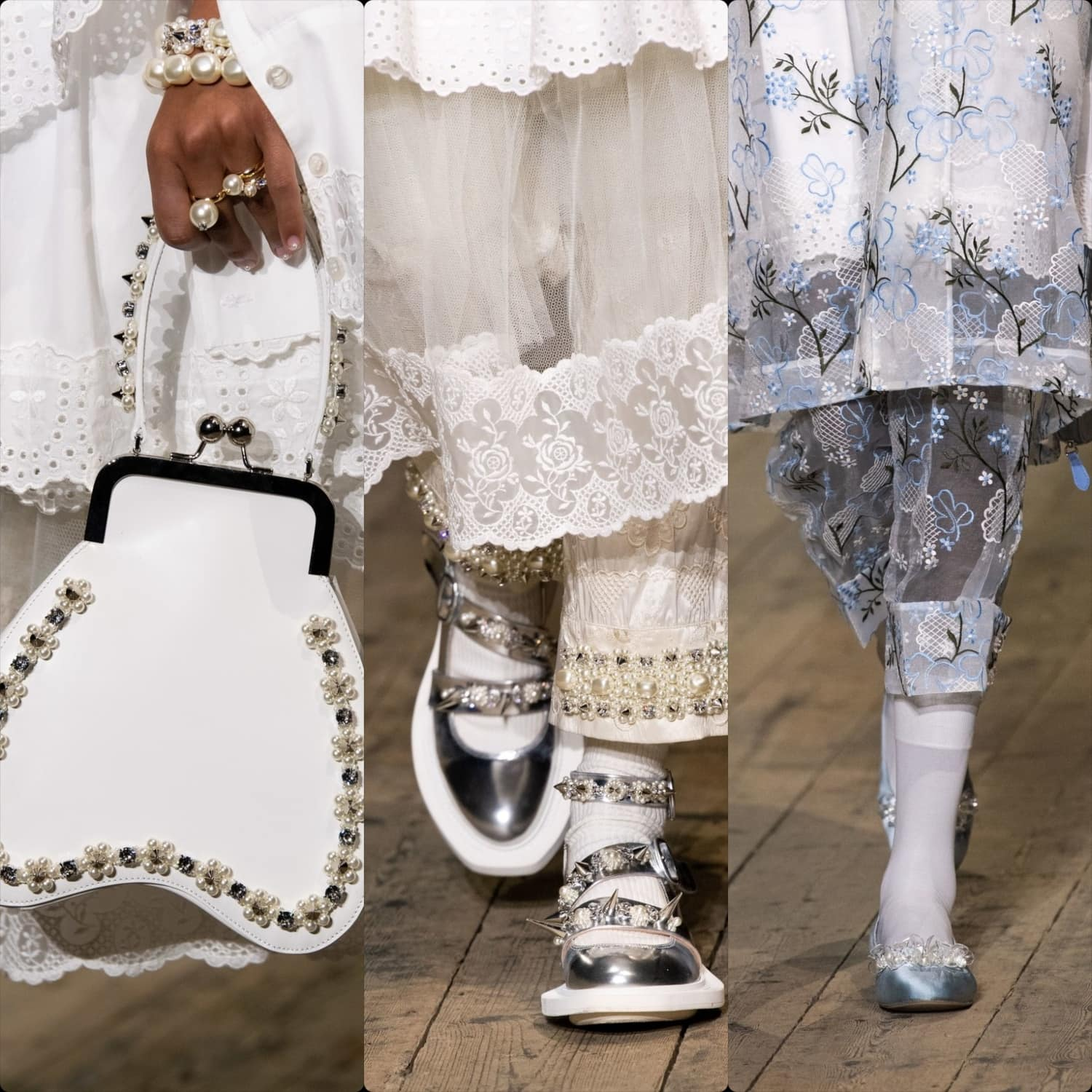 Simone Rocha Spring Summer 2020 London. RUNWAY MAGAZINE ® Collections. RUNWAY NOW / RUNWAY NEW