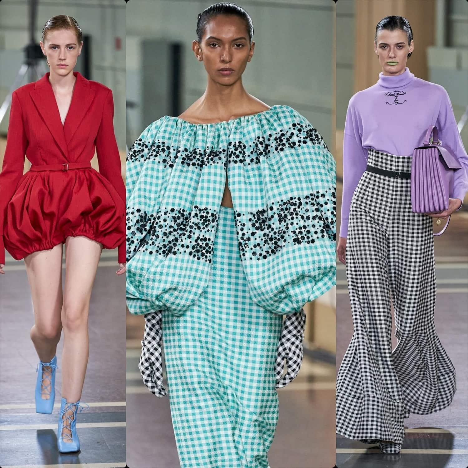 Emilia Wickstead Spring Summer 2020 London. RUNWAY MAGAZINE ® Collections. RUNWAY NOW / RUNWAY NEW