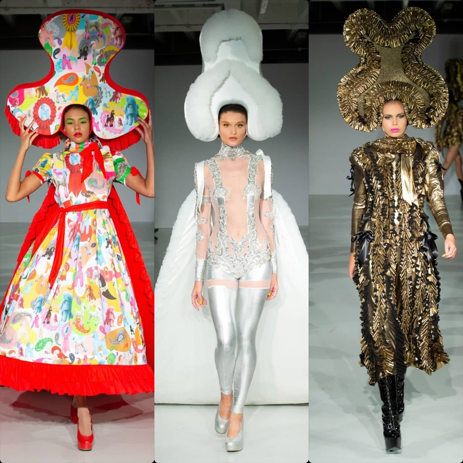 Pam Hogg Spring Summer 2020 London. RUNWAY MAGAZINE ® Collections. RUNWAY NOW / RUNWAY NEW