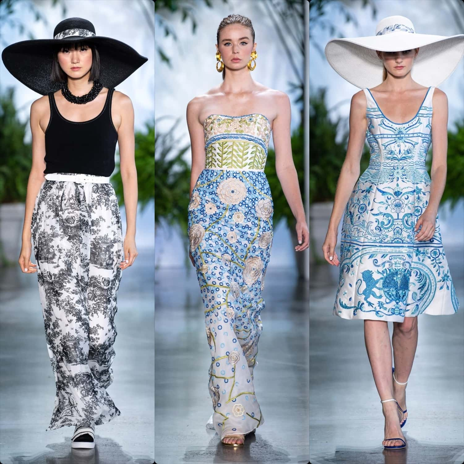 Dennis Basso Spring Summer 2020 New York. RUNWAY MAGAZINE ® Collections. RUNWAY NOW / RUNWAY NEW