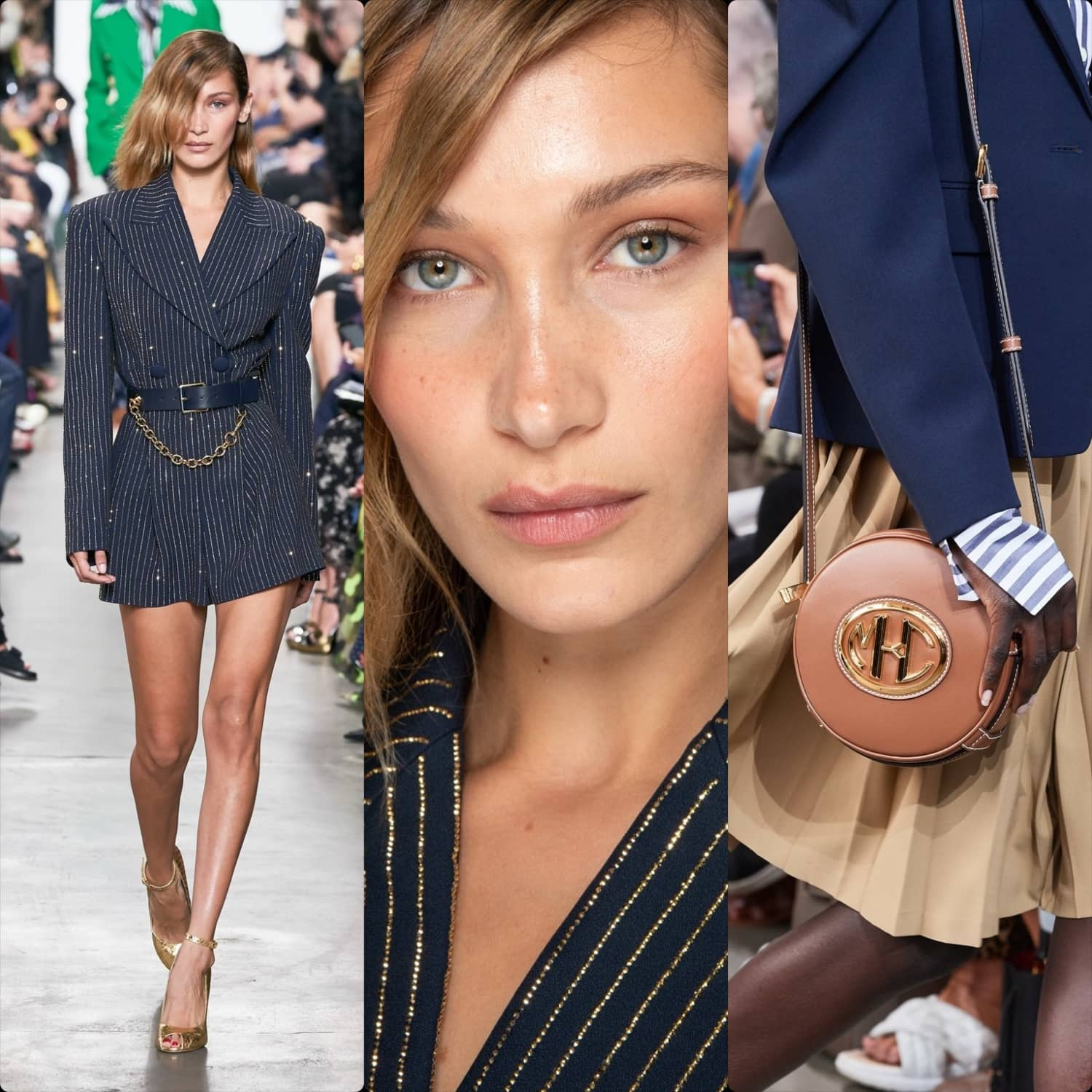 Michael Kors Spring Summer 2020 New York. Bella Hadid. RUNWAY MAGAZINE ® Collections. RUNWAY NOW / RUNWAY NEW