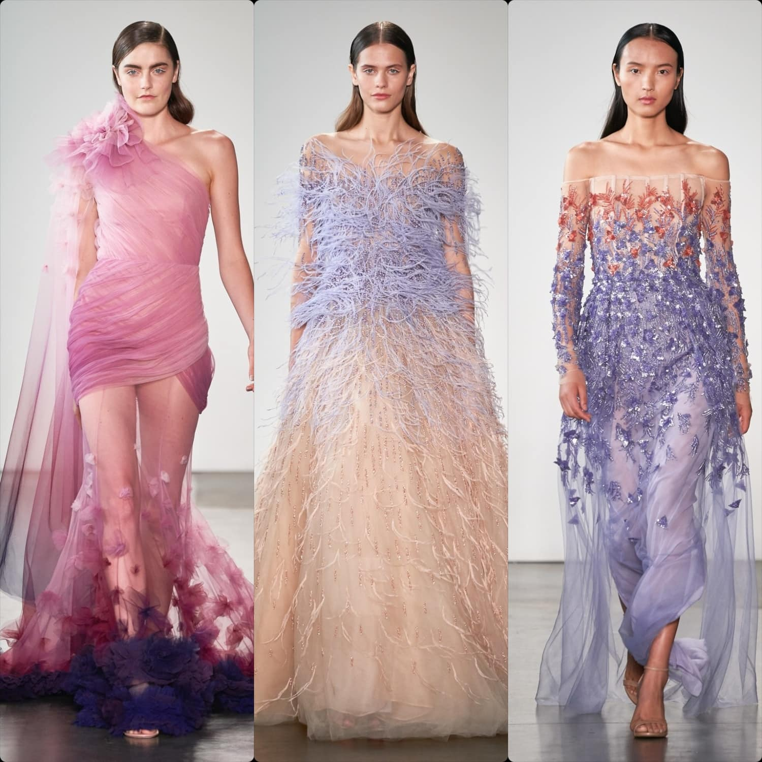 Pamella Roland Spring Summer 2020 New York. RUNWAY MAGAZINE ® Collections. RUNWAY NOW / RUNWAY NEW