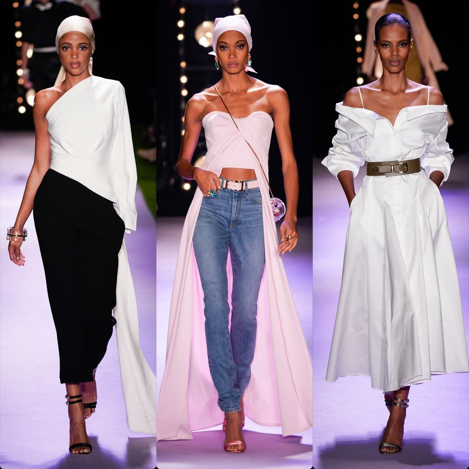 Brandon Maxwell Spring Summer 2020 New York. RUNWAY MAGAZINE ® Collections. RUNWAY NOW / RUNWAY NEW