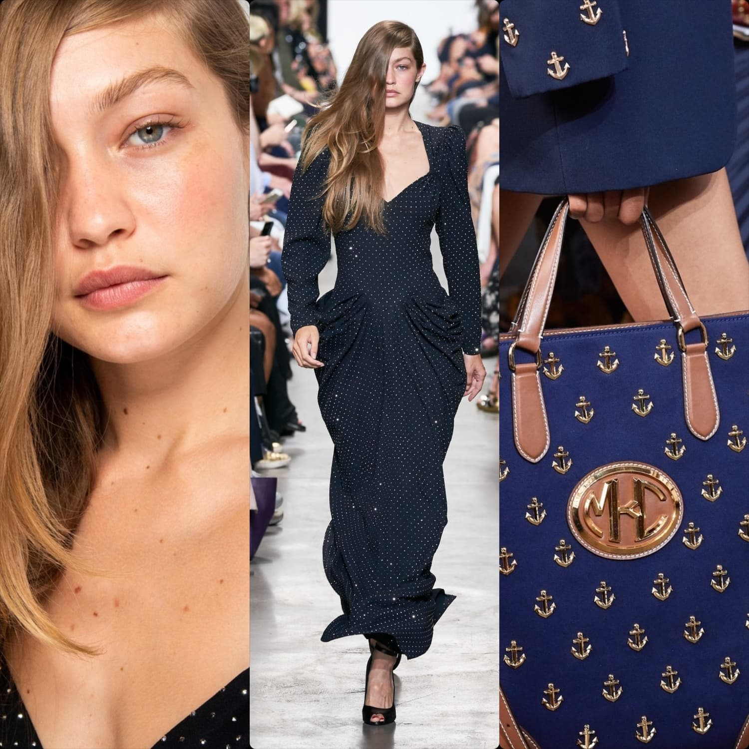 Michael Kors Spring Summer 2020 New York. Gigi Hadid. RUNWAY MAGAZINE ® Collections. RUNWAY NOW / RUNWAY NEW