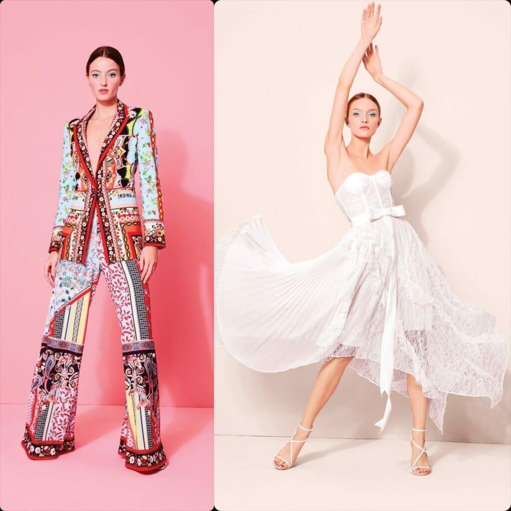 Alice + Olivia Spring Summer 2020 New York. RUNWAY MAGAZINE ® Collections. RUNWAY NOW / RUNWAY NEW