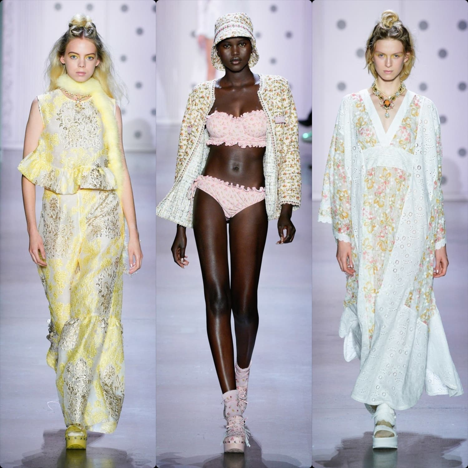 Anna Sui Spring Summer 2020 New York. RUNWAY MAGAZINE ® Collections. RUNWAY NOW / RUNWAY NEW