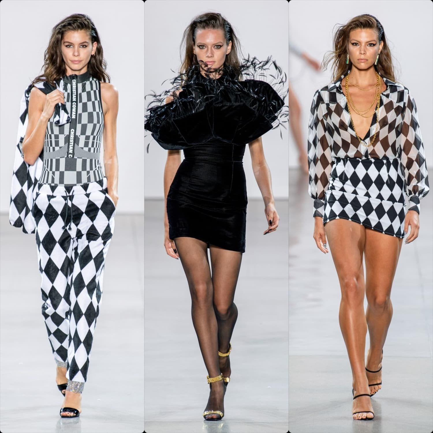 Christian Cowan Spring Summer 2020 New York. RUNWAY MAGAZINE ® Collections. RUNWAY NOW / RUNWAY NEW