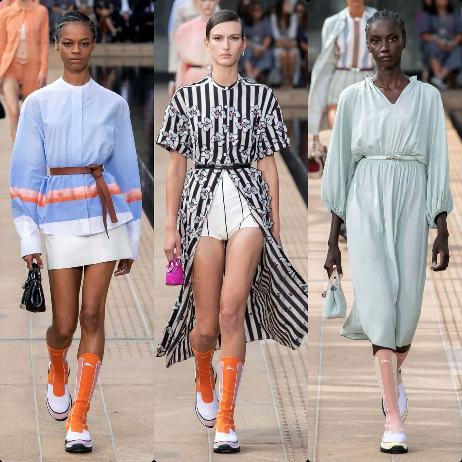 Longchamp Spring Summer 2020 New York. RUNWAY MAGAZINE ® Collections. RUNWAY NOW / RUNWAY NEW