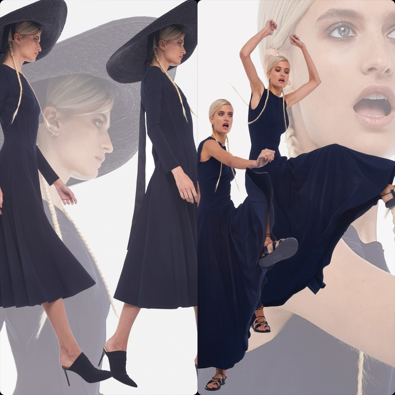 Norma Kamali Spring Summer 2020 New York. RUNWAY MAGAZINE ® Collections. RUNWAY NOW / RUNWAY NEW