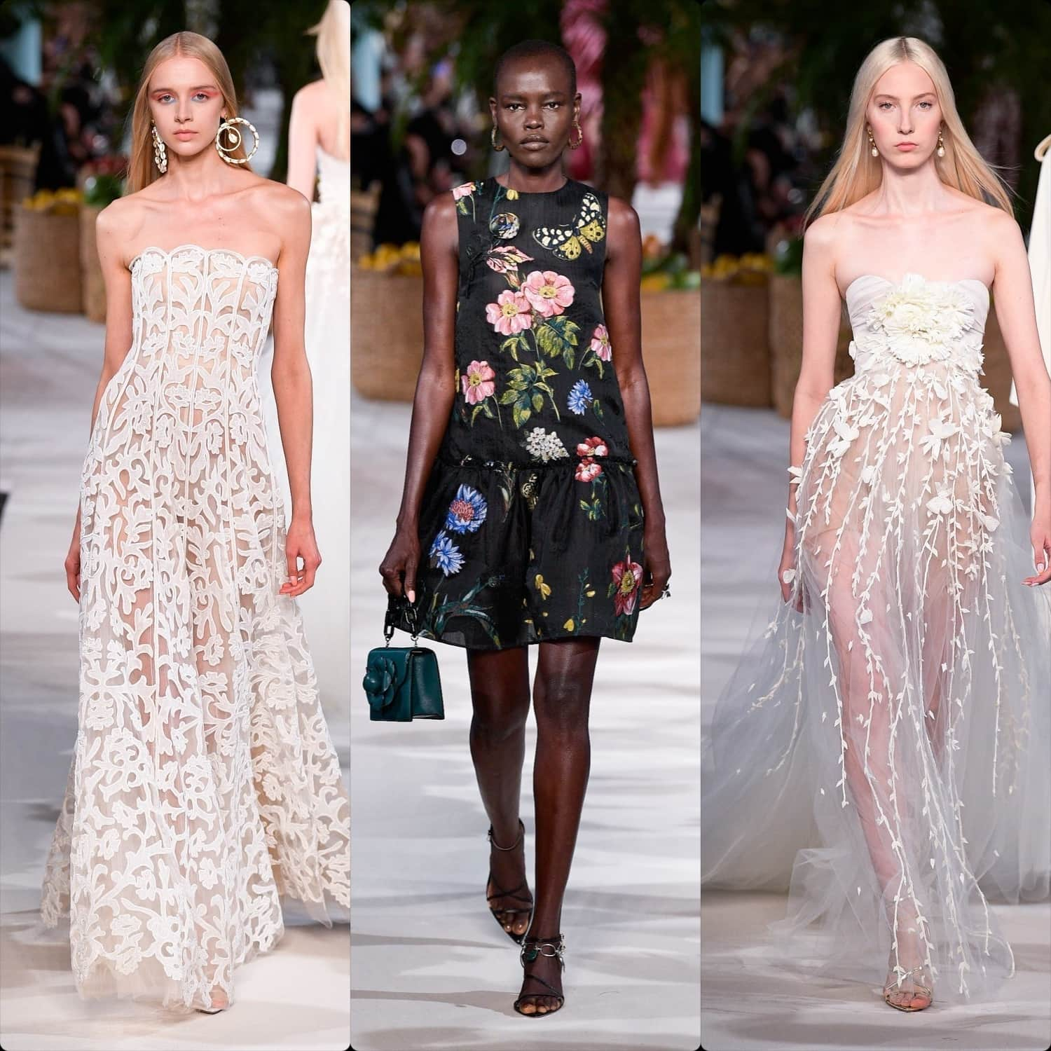 Oscar de la Renta Spring Summer 2020 New York. RUNWAY MAGAZINE ® Collections. RUNWAY NOW / RUNWAY NEW