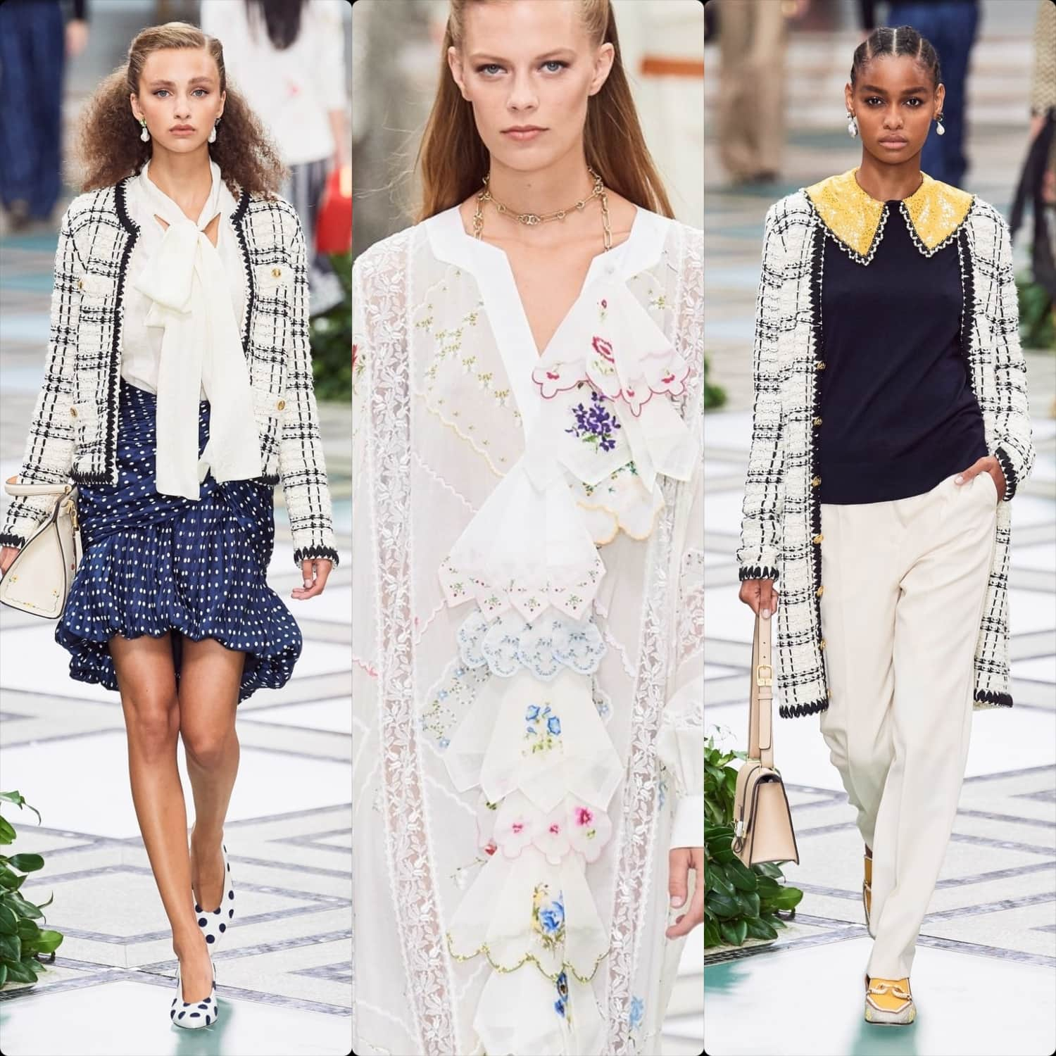 Tory Burch Spring Summer 2020 New York. RUNWAY MAGAZINE ® Collections. RUNWAY NOW / RUNWAY NEW