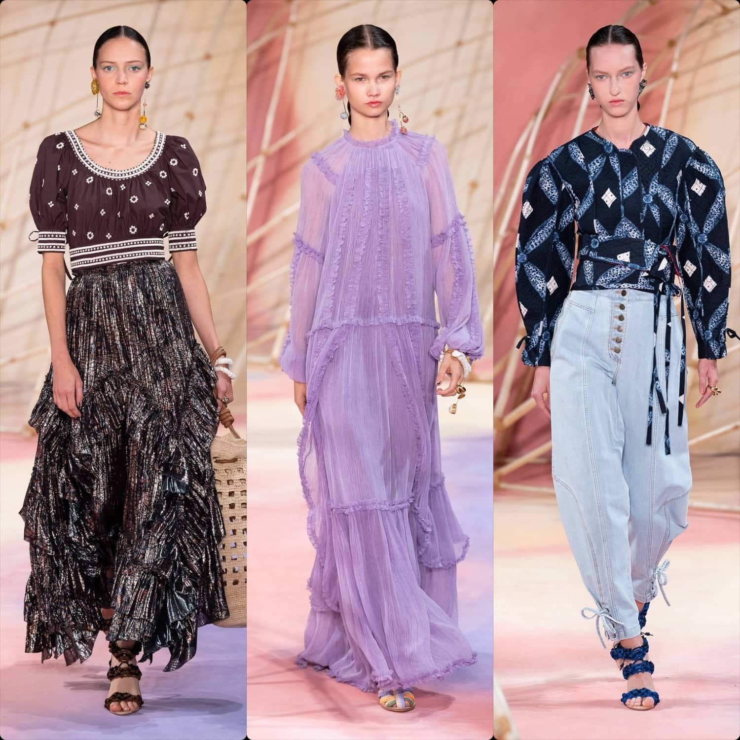 Ulla Johnson Spring Summer 2020 New York. RUNWAY MAGAZINE ® Collections. RUNWAY NOW / RUNWAY NEW