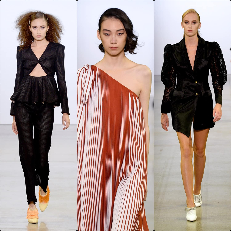 Vivienne Hu Spring Summer 2020 New York. RUNWAY MAGAZINE ® Collections. RUNWAY NOW / RUNWAY NEW
