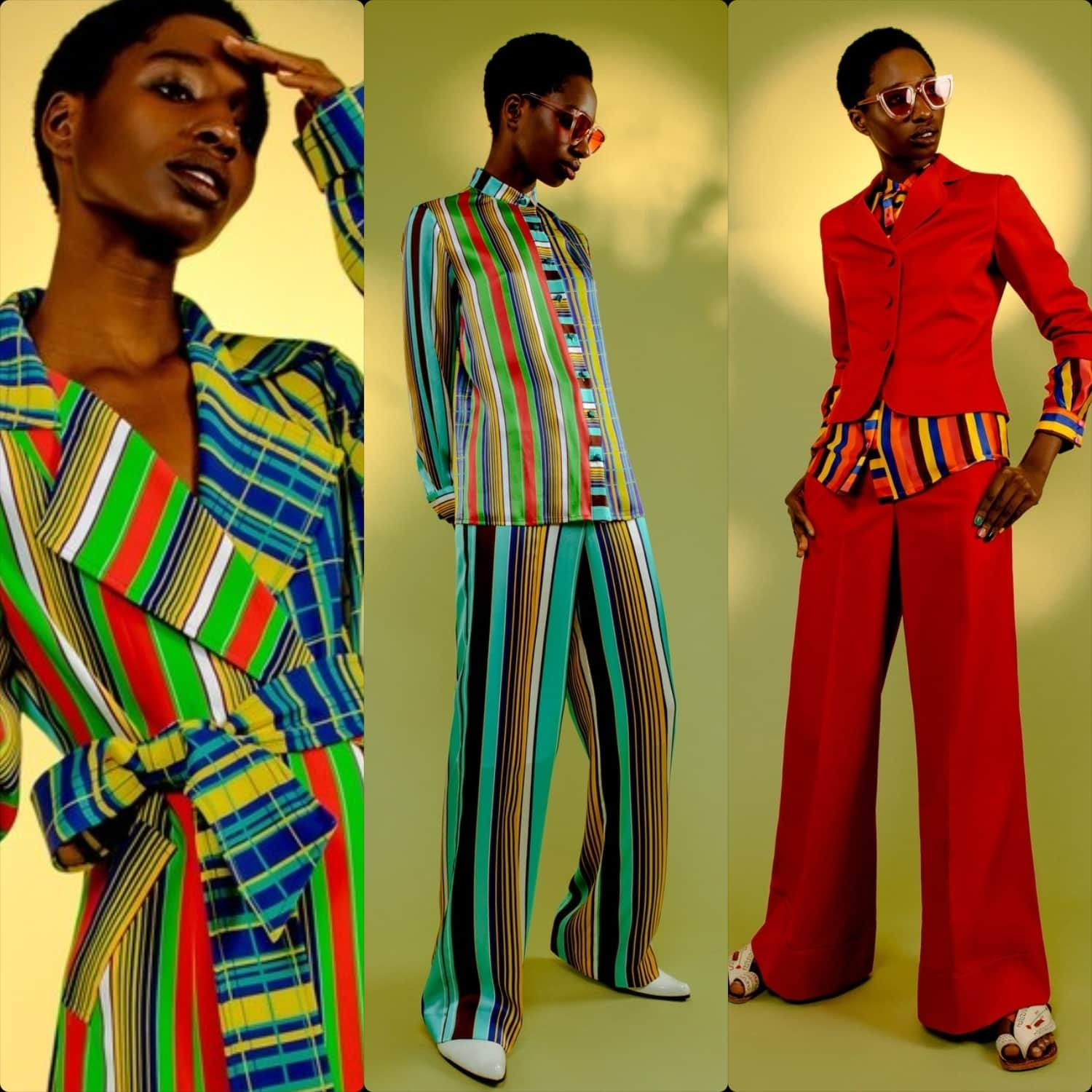 Duro Olowu Spring Summer 2020 London. RUNWAY MAGAZINE ® Collections. RUNWAY NOW / RUNWAY NEW