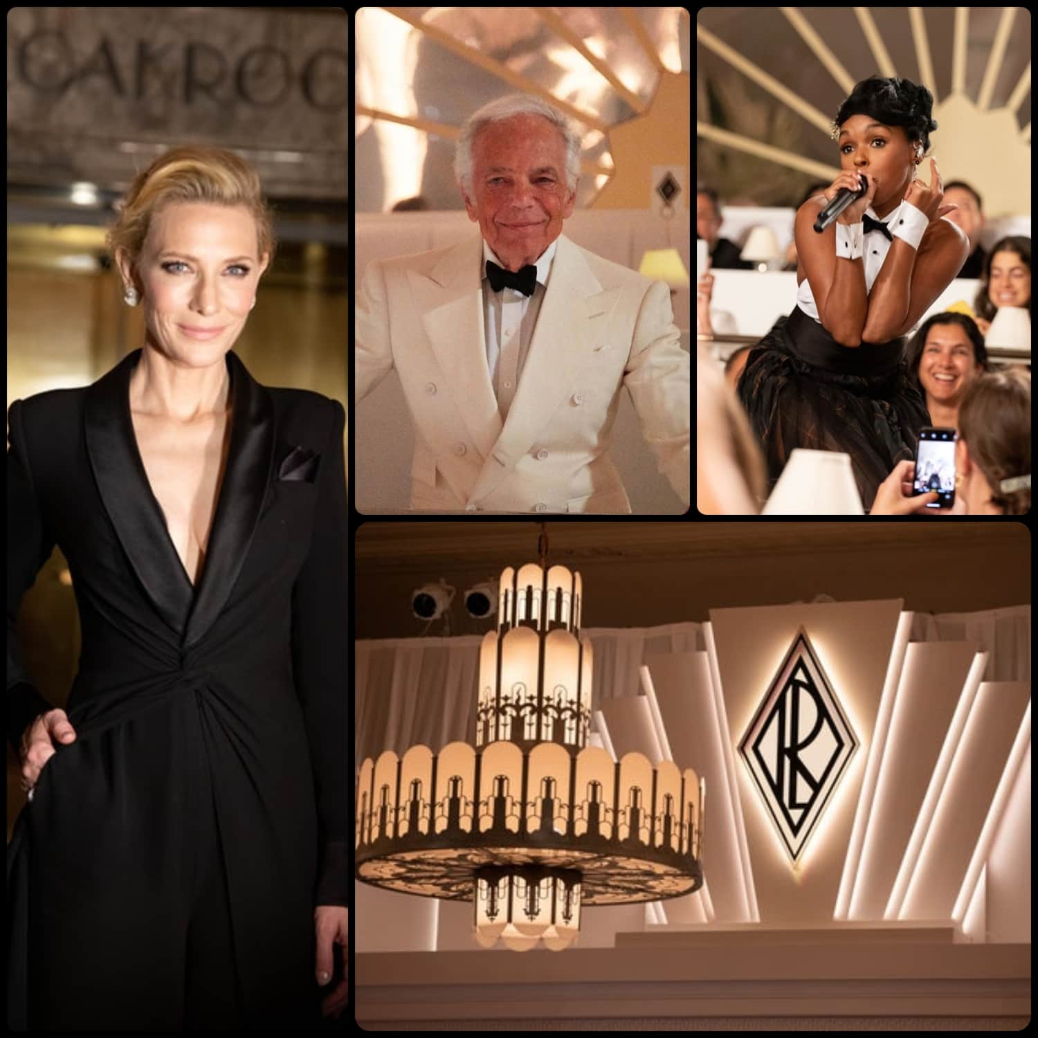 Ralph Lauren Fall 2019 New York - Cate Blanchett - performance Janelle Monae - RUNWAY MAGAZINE Collection