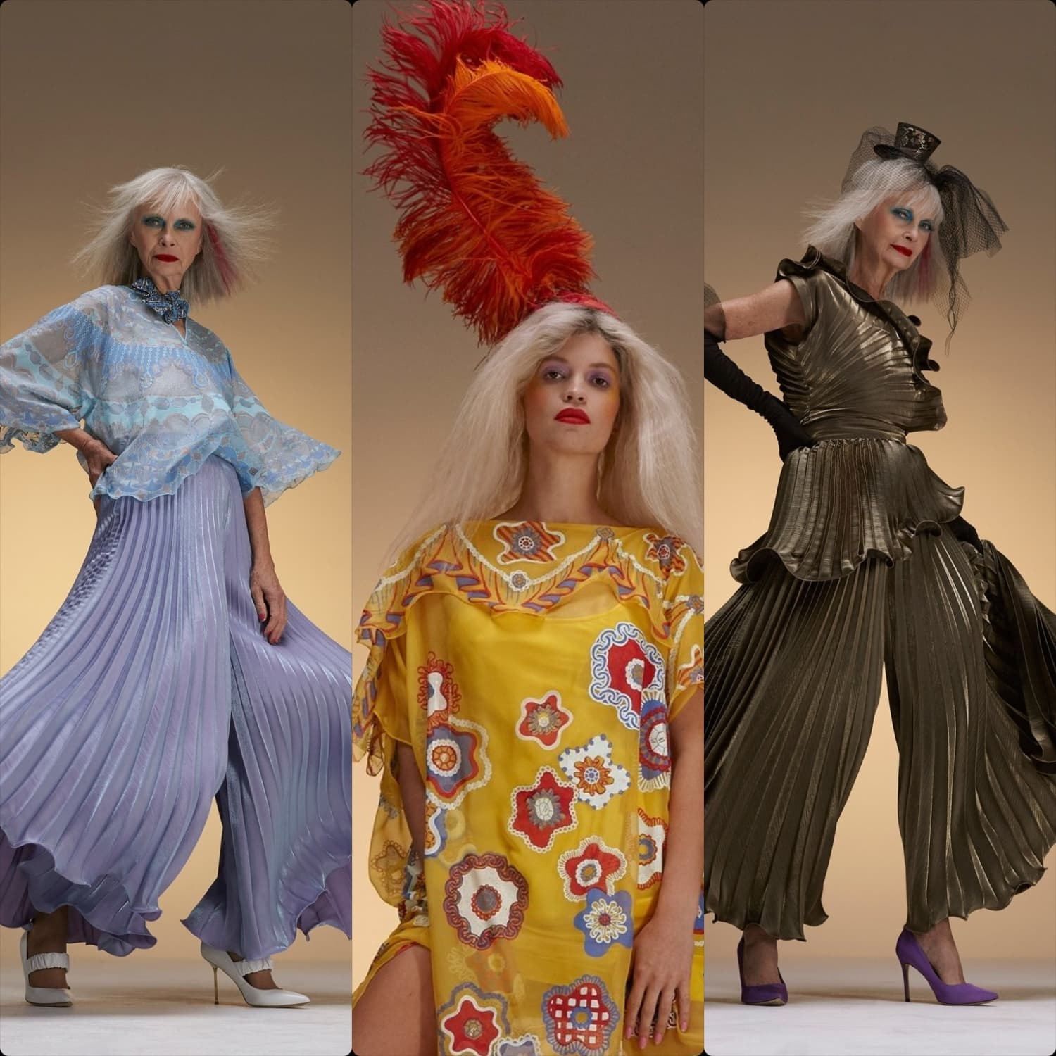 Zandra Rhodes Spring Summer 2020 London. RUNWAY MAGAZINE ® Collections. RUNWAY NOW / RUNWAY NEW