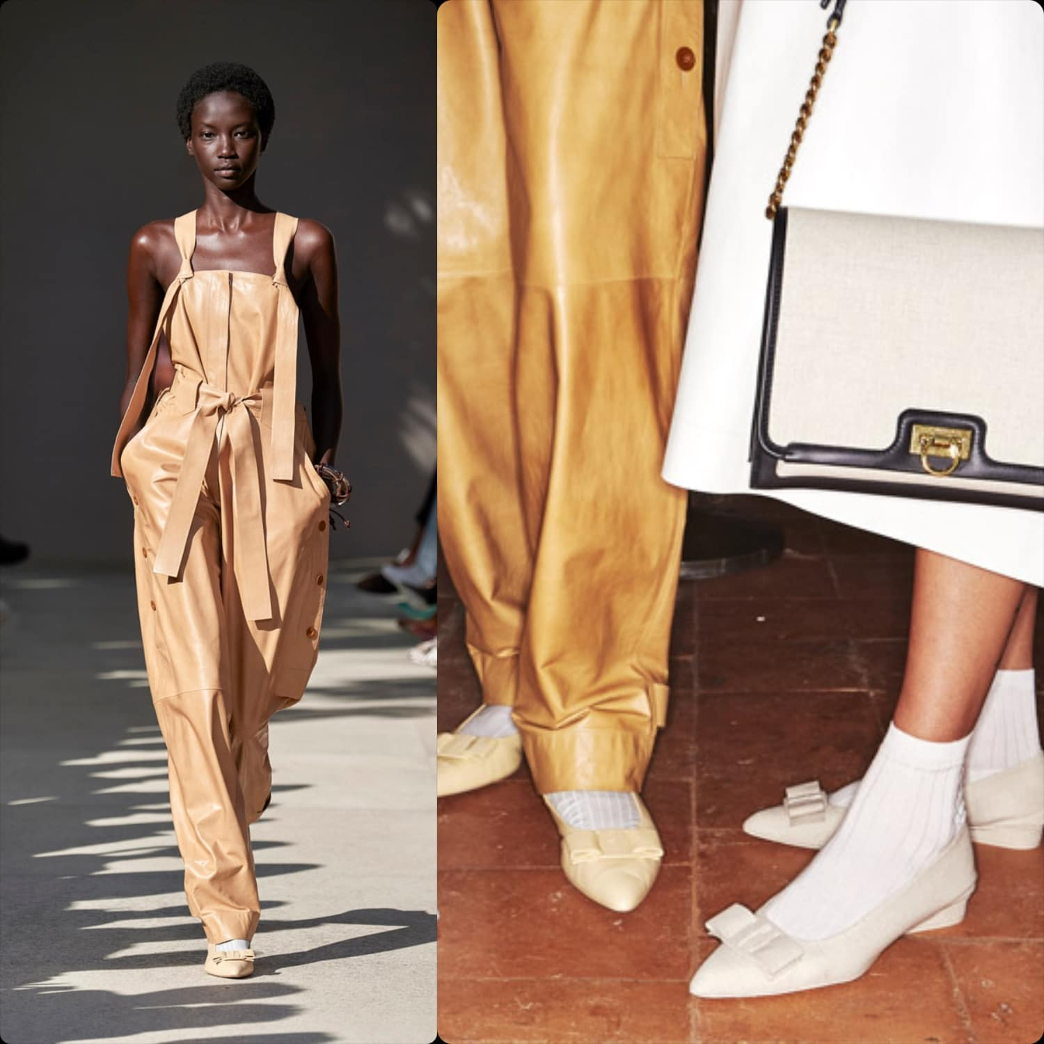 Salvatore Ferragamo Spring Summer 2020 Milan Fashion Week. RUNWAY MAGAZINE ® Collections. RUNWAY NOW / RUNWAY NEW