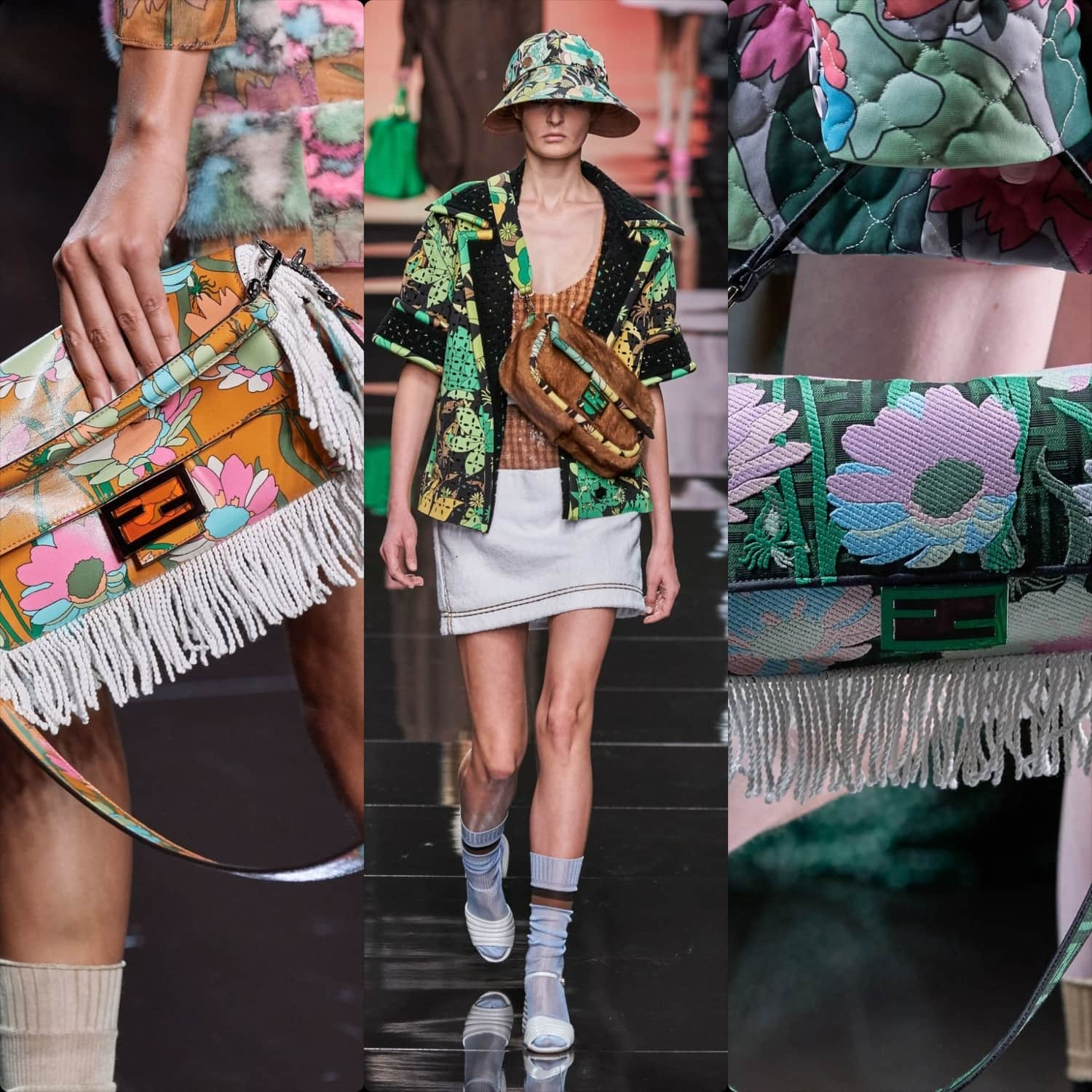 Fendi Spring Summer 2020 Milan Fashion Week. RUNWAY MAGAZINE ® Collections. RUNWAY NOW / RUNWAY NEW