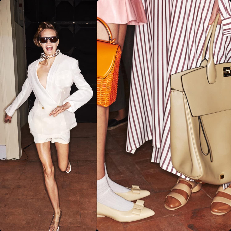 Salvatore Ferragamo Spring Summer 2020 Milan Fashion Week. RUNWAY MAGAZINE ® Collections. RUNWAY NOW / RUNWAY NEW