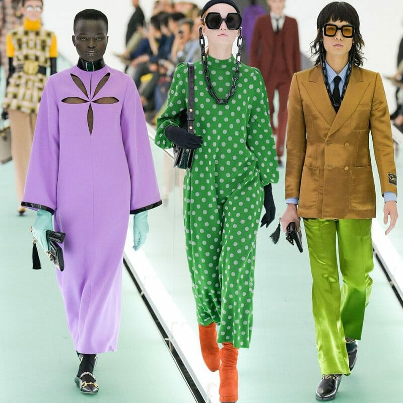 Gucci Spring Summer 2020 Milan Fashion Week. RUNWAY MAGAZINE ® Collections. RUNWAY NOW / RUNWAY NEW