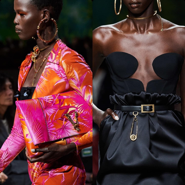 Versace Spring Summer 2020 Milan Fashion Week. Special presence Jennifer Lopez. RUNWAY MAGAZINE ® Collections. RUNWAY NOW / RUNWAY NEW