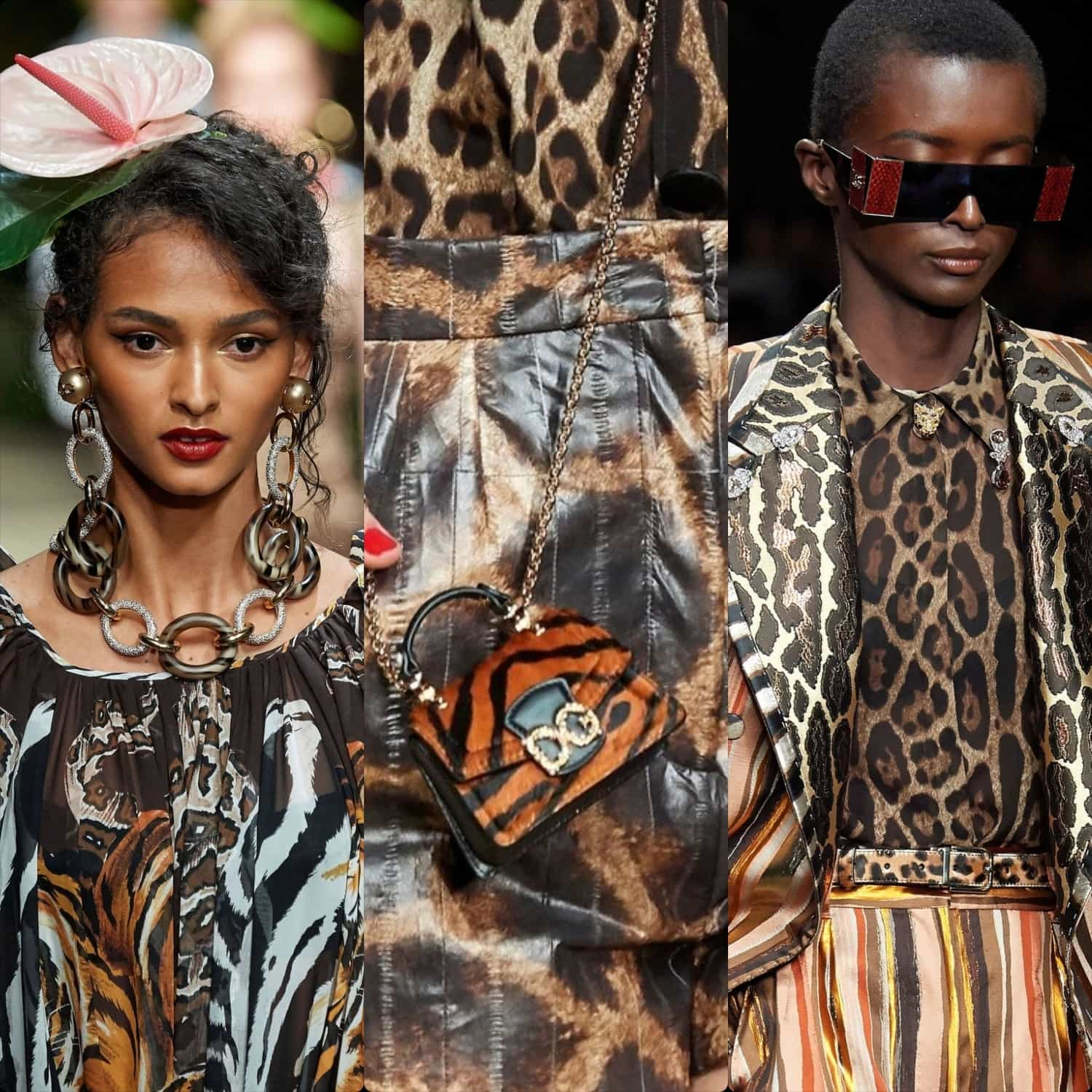 Dolce & Gabbana Spring Summer 2020 Milan Fashion Week. RUNWAY MAGAZINE ® Collections. RUNWAY NOW / RUNWAY NEW
