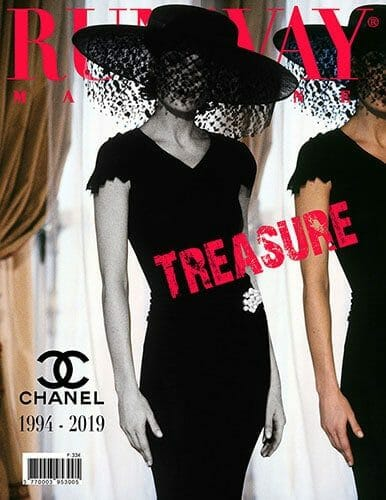 RUNWAY MAGAZINE Treasure Collections 2019 - Chanel
