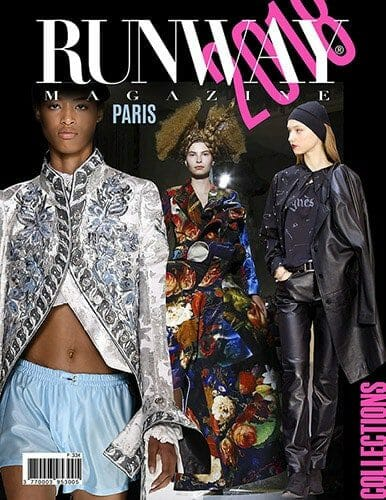 Runway Magazine 2018 Paris