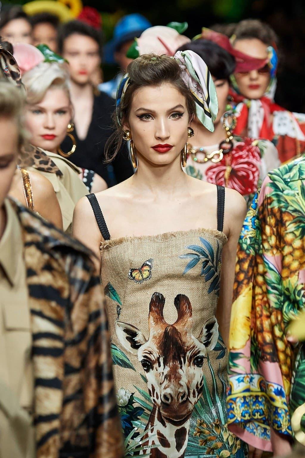 Dolce & Gabbana Spring Summer 2020 Milan Fashion Week. RUNWAY MAGAZINE ® Collections. RUNWAY NOW / RUNWAY NEW