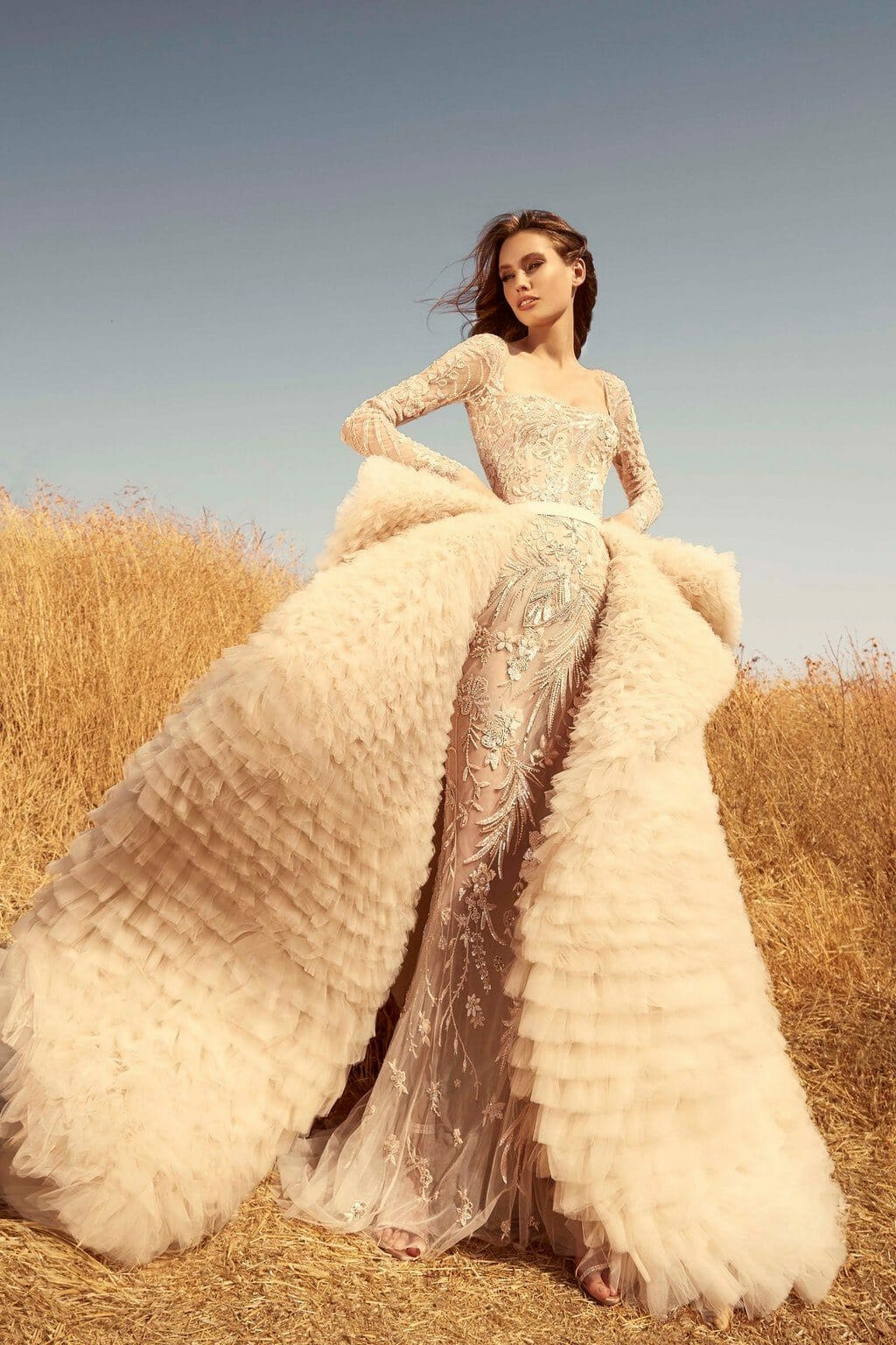 Zuhair Murad Bridal Fall Winter 2020-2021. RUNWAY MAGAZINE ® Collections. RUNWAY NOW / RUNWAY NEW