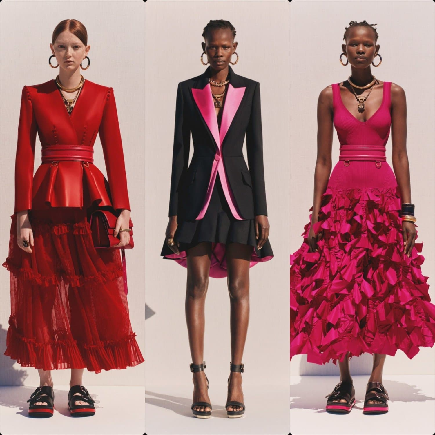 Alexander McQueen Cruise 2020 Resort London. RUNWAY MAGAZINE ® Collections. RUNWAY NOW / RUNWAY NEW