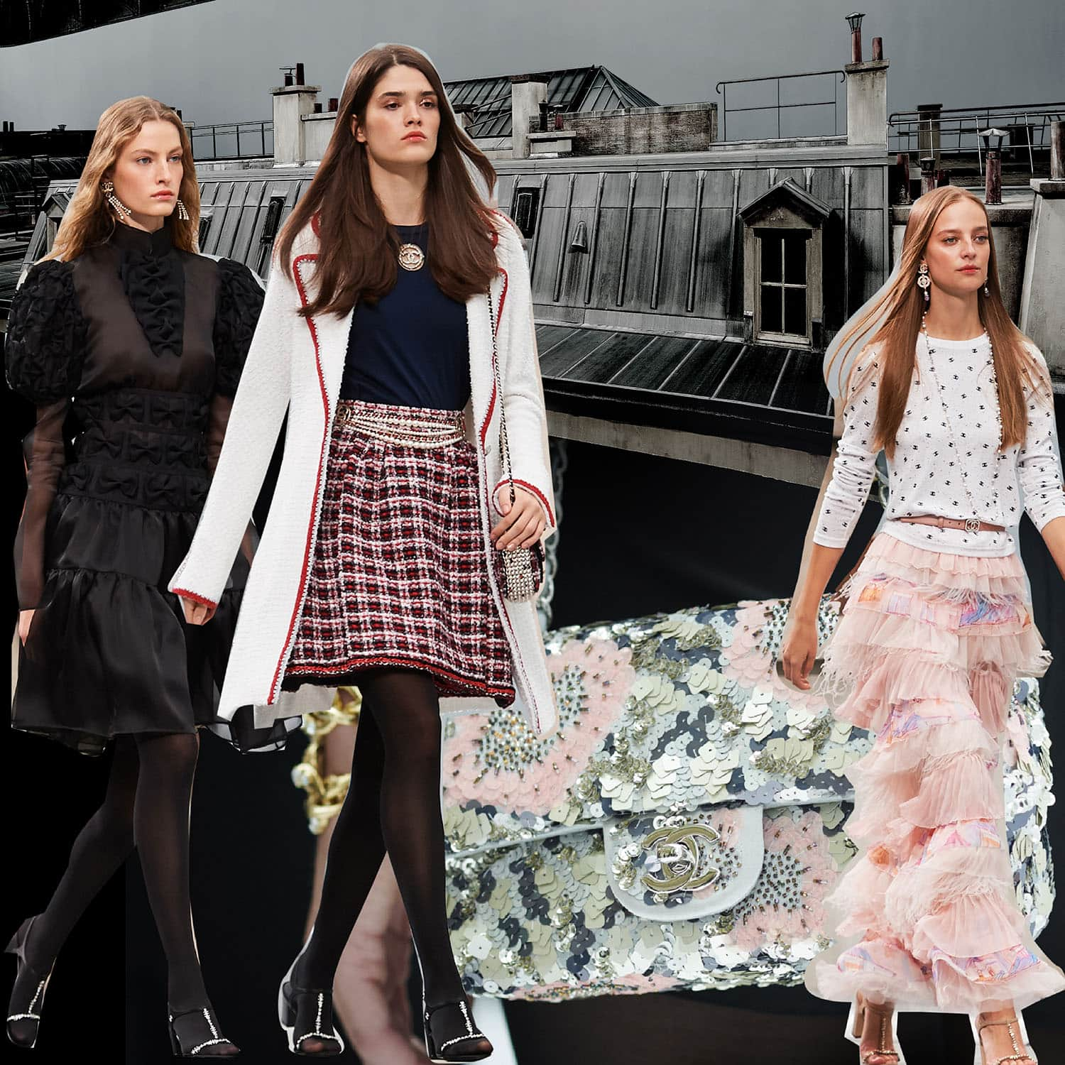 CHANEL Spring Summer 2020 Paris Fashion Week. RUNWAY MAGAZINE ® Collections. RUNWAY NOW / RUNWAY NEW