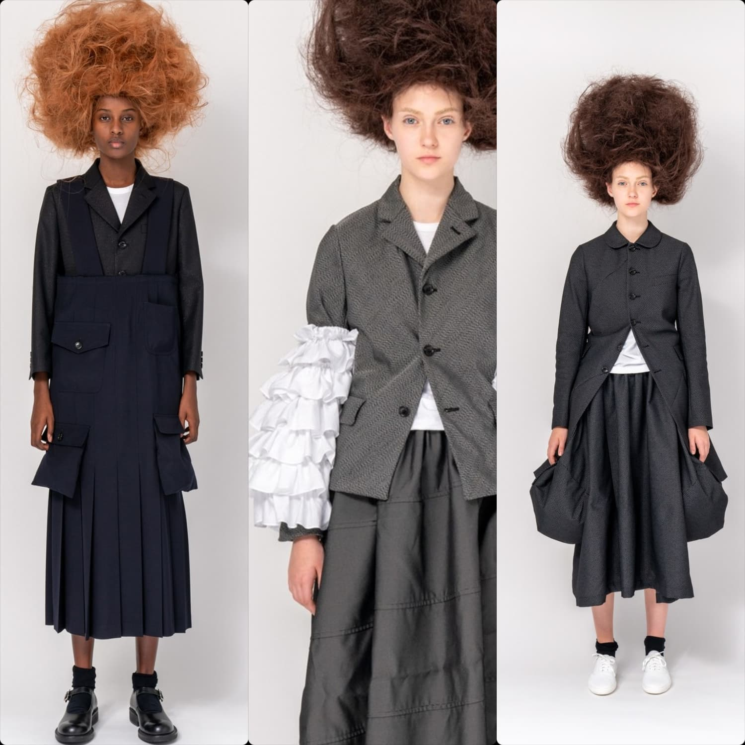 Comme des Garcons Pre-Fall 2020 Paris. RUNWAY MAGAZINE ® Collections. RUNWAY NOW / RUNWAY NEW