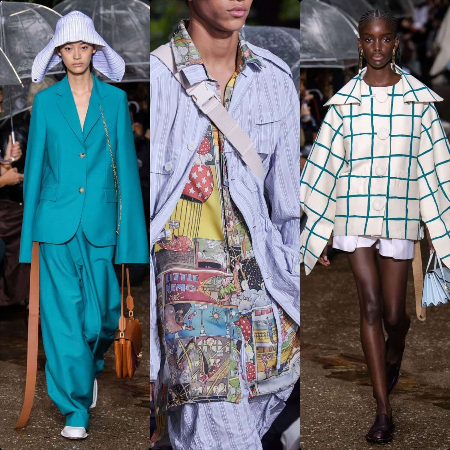 Lanvin Spring Summer 2020 Paris Fashion Week. RUNWAY MAGAZINE ® Collections. RUNWAY NOW / RUNWAY NEW
