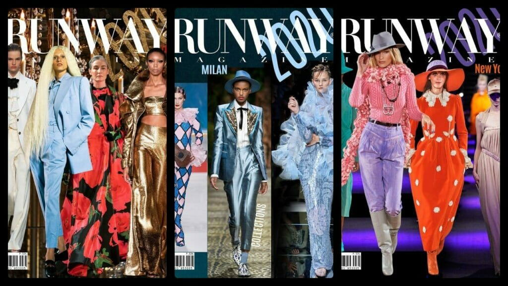 Runway Magazine Covers 2020
