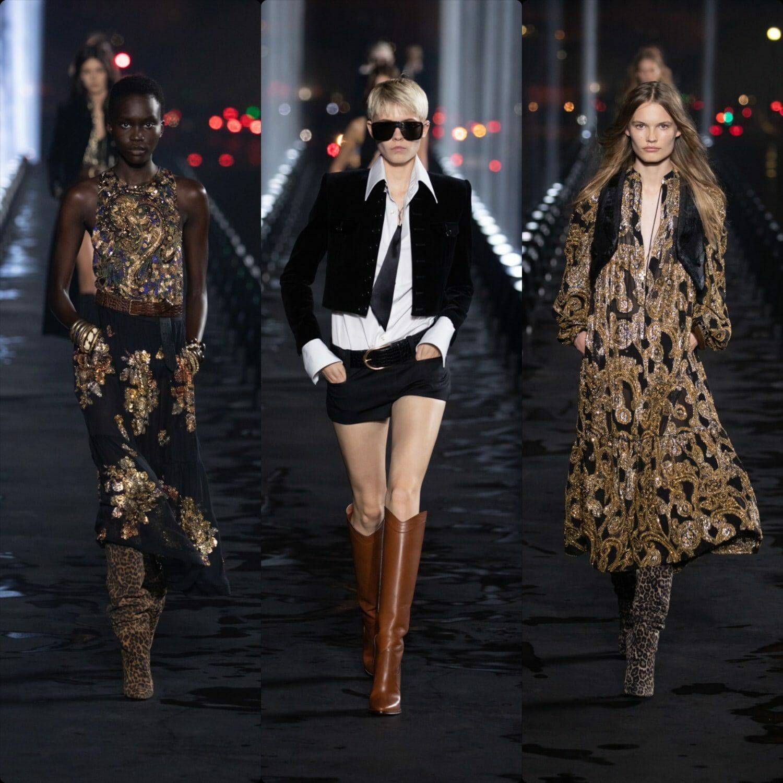 Saint Laurent Spring Summer 2020 Paris Fashion Week. RUNWAY MAGAZINE ® Collections. RUNWAY NOW / RUNWAY NEW