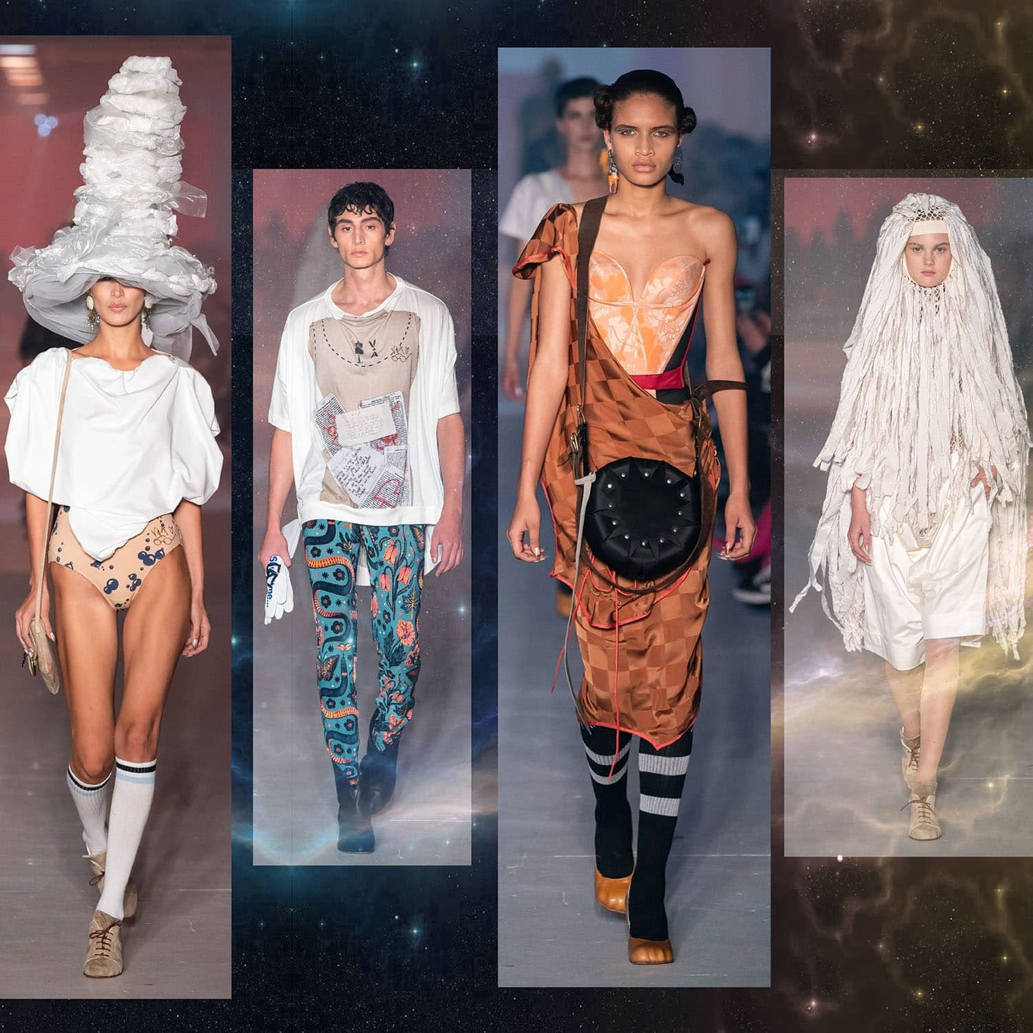Vivienne Westwood Spring Summer 2020 Paris Fashion Week. RUNWAY MAGAZINE ® Collections. RUNWAY NOW / RUNWAY NEW