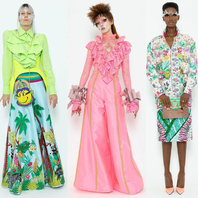 Manish Arora Spring Summer 2020 Paris Fashion Week. RUNWAY MAGAZINE ® Collections. RUNWAY NOW / RUNWAY NEW
