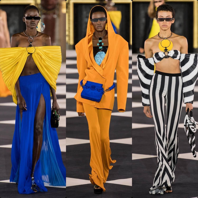 Balmain Spring Summer 2020 Paris Fashion Week. RUNWAY MAGAZINE ® Collections. RUNWAY NOW / RUNWAY NEW