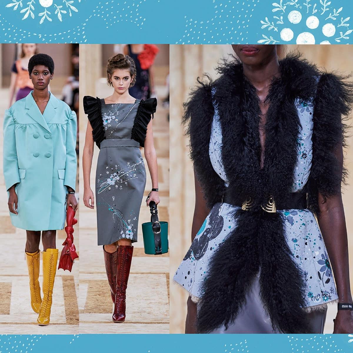 Miu Miu Spring Summer 2020 Paris Fashion Week. RUNWAY MAGAZINE ® Collections. RUNWAY NOW / RUNWAY NEW