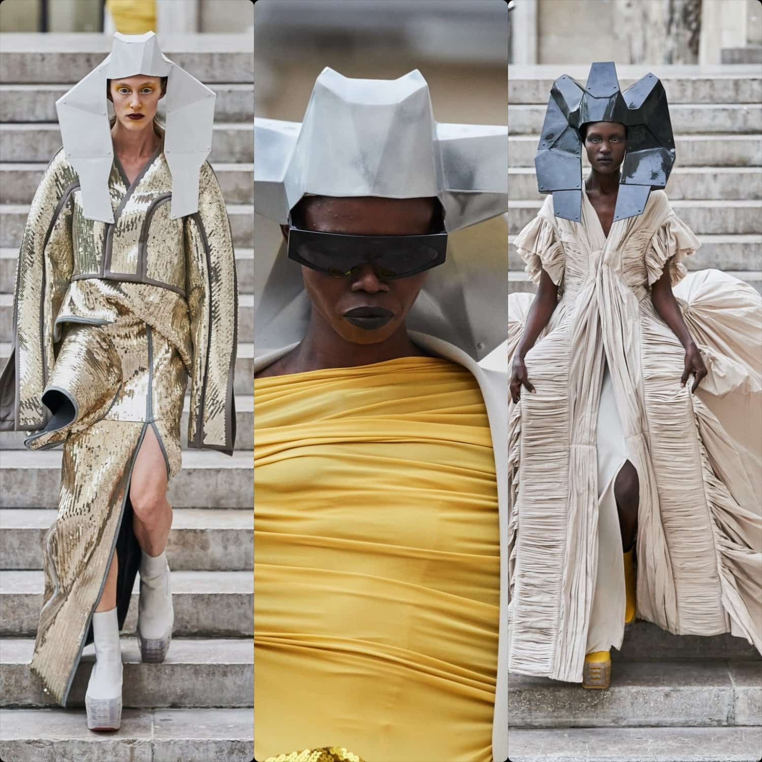 Rick Owens Spring Summer 2020 Paris Fashion Week. RUNWAY MAGAZINE ® Collections. RUNWAY NOW / RUNWAY NEW