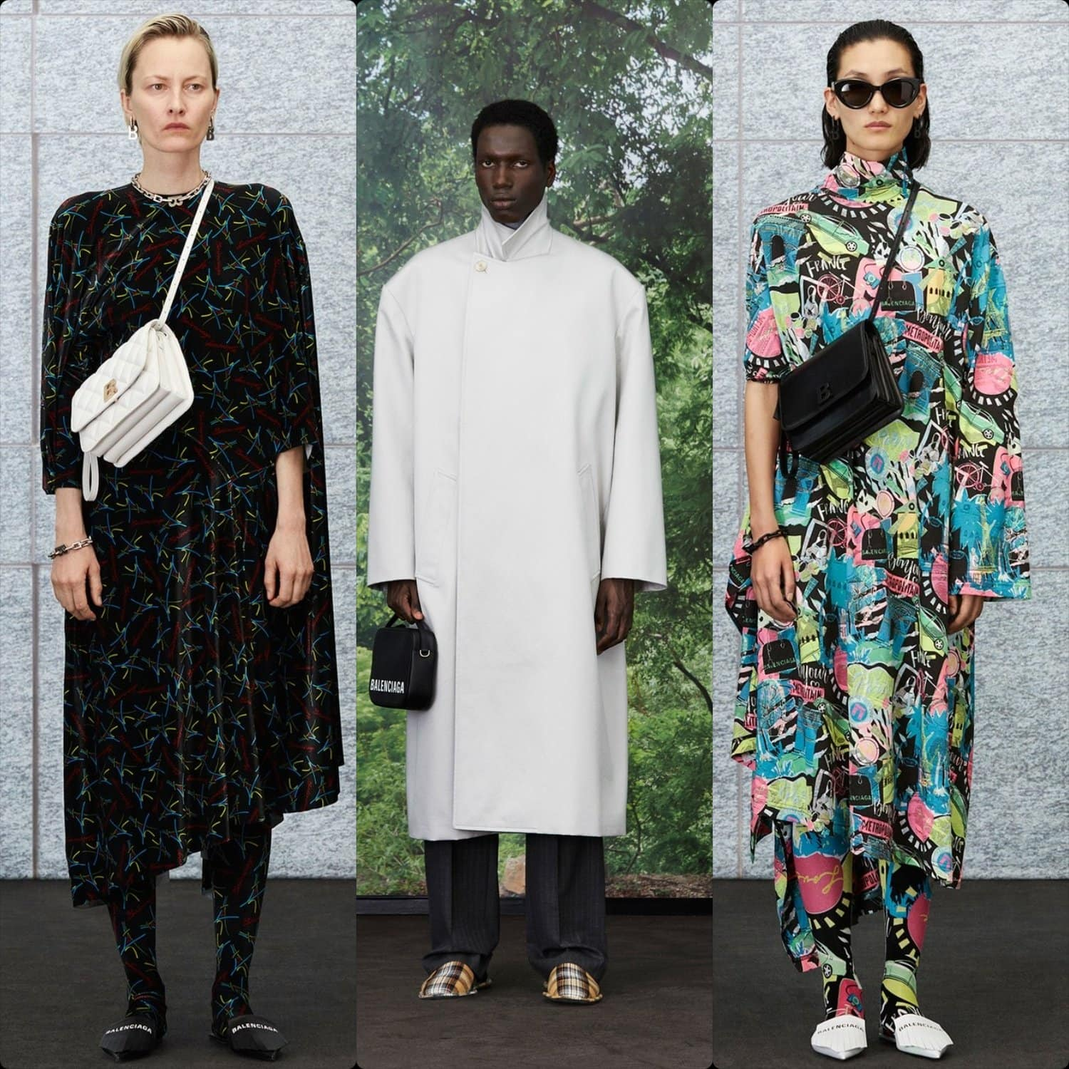 Balenciaga Cruise 2020 Resort Paris. RUNWAY MAGAZINE ® Collections. RUNWAY NOW / RUNWAY NEW