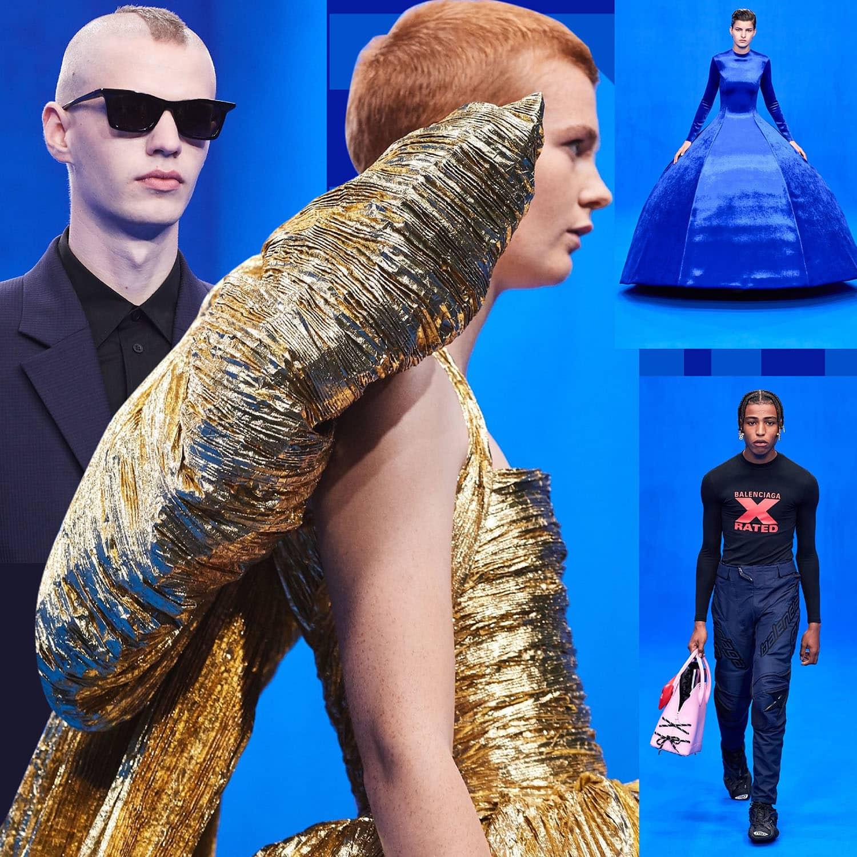 Balenciaga Spring Summer 2020 Paris Fashion Week. RUNWAY MAGAZINE ® Collections. RUNWAY NOW / RUNWAY NEW