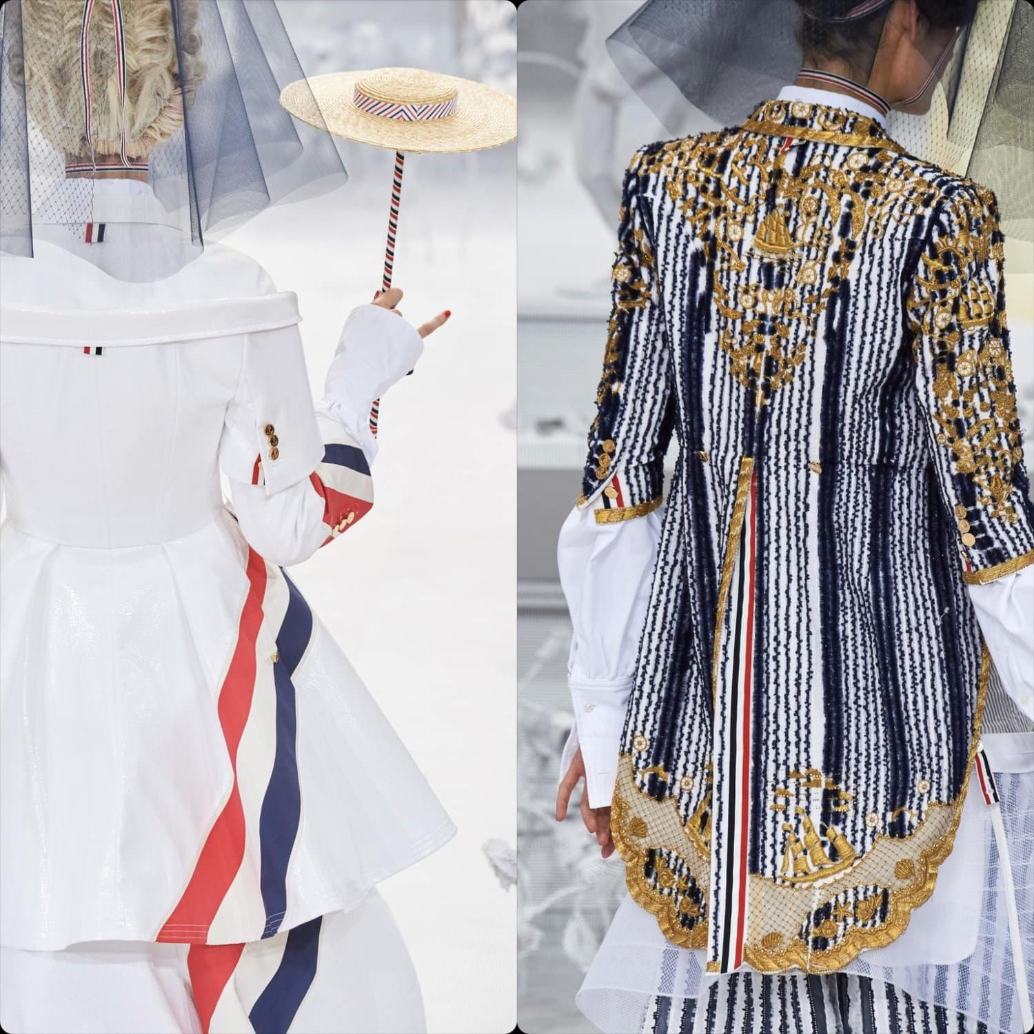 Thom Browne Spring Summer 2020 Paris Fashion Week. RUNWAY MAGAZINE ® Collections. RUNWAY NOW / RUNWAY NEW