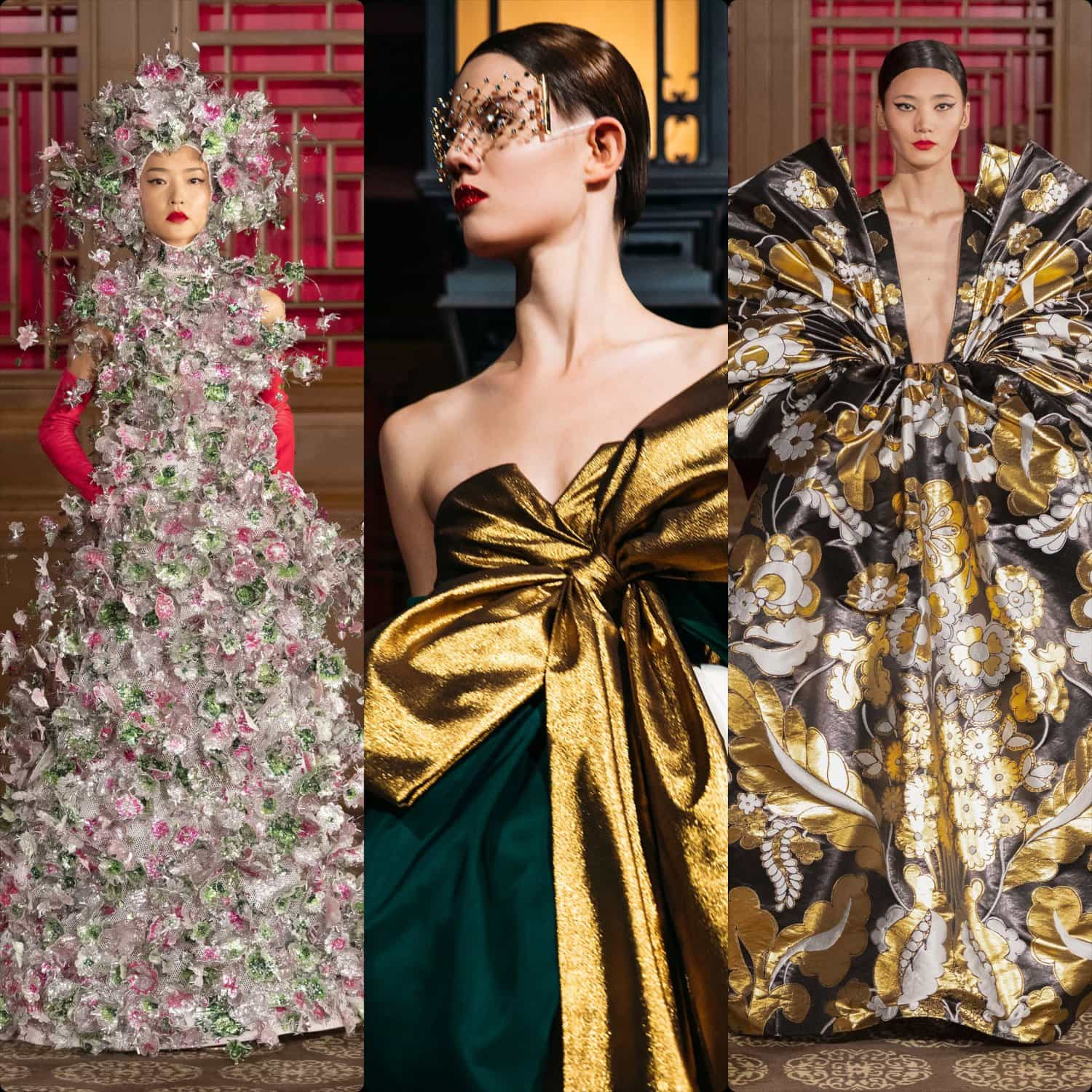 "Valentino Haute Couture Beijing fashion show ""DayDream"", November 7, 2019 At the summer palace in Beijing, collection by Pierpaolo Piccioli. RUNWAY MAGAZINE ® Collections. RUNWAY NOW / RUNWAY NEW"