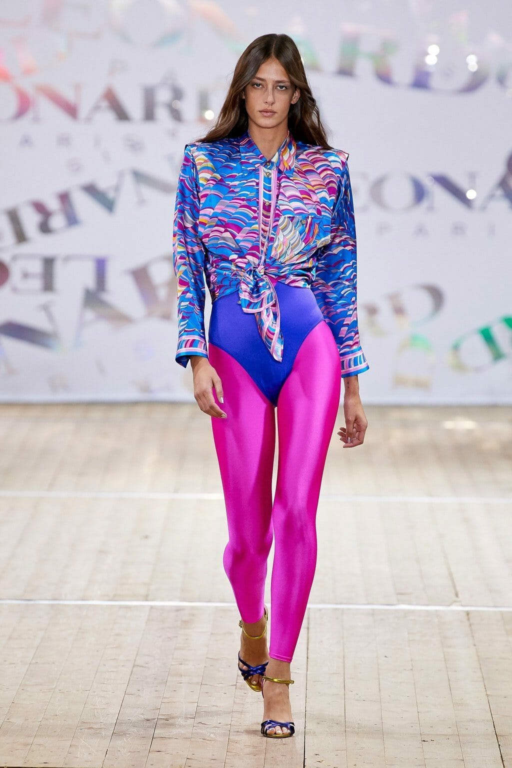 Leonard Paris Spring Summer 2020 Paris Fashion Week. RUNWAY MAGAZINE ® Collections. RUNWAY NOW / RUNWAY NEW