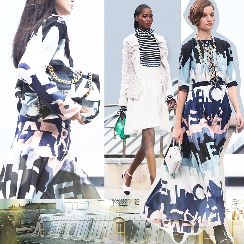 CHANEL Spring Summer 2020 Paris Fashion Week. RUNWAY MAGAZINE ® Collections. RUNWAY NOW / RUNWAY NEW