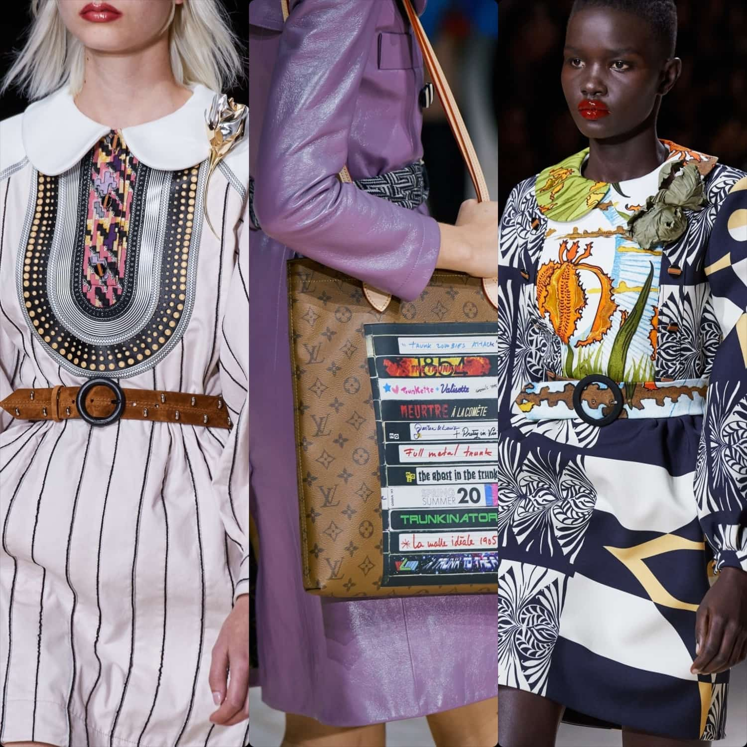 Louis Vuitton Spring Summer 2020 Paris Fashion Week. RUNWAY MAGAZINE ® Collections. RUNWAY NOW / RUNWAY NEW