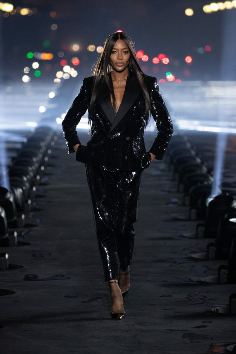 Saint Laurent Spring Summer 2020 Paris Fashion Week. RUNWAY MAGAZINE ® Collections. RUNWAY NOW / RUNWAY NEW