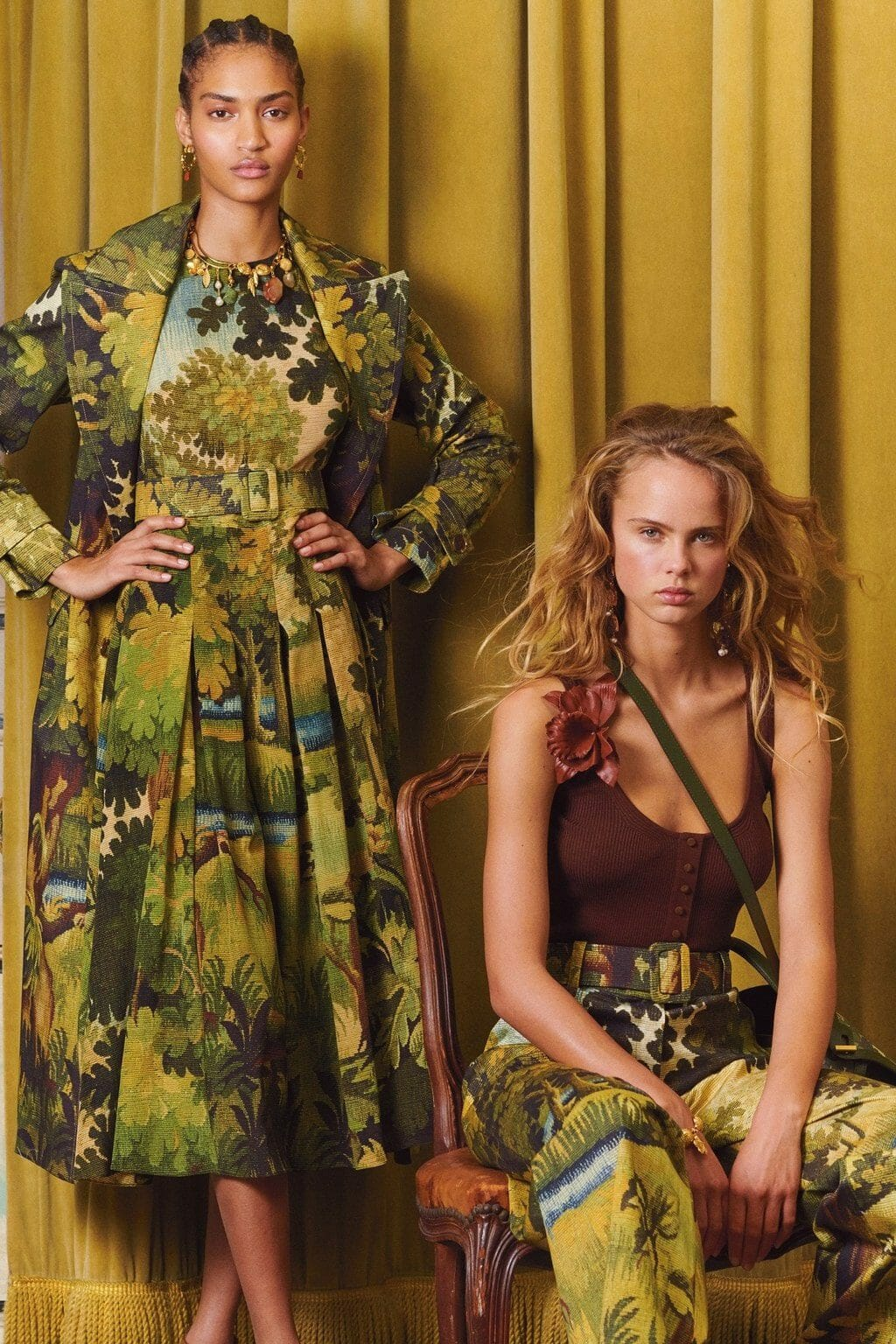 Oscar de la Renta Pre-Fall 2020 New York. RUNWAY MAGAZINE ® Collections. RUNWAY NOW / RUNWAY NEW